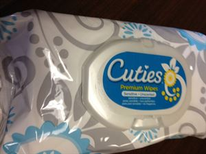 Picture of Cuties Premium Wipes