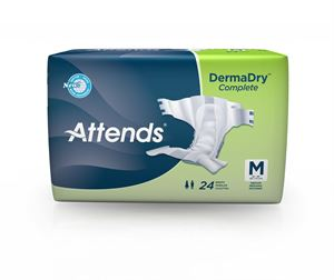 Picture of Attends Extra Absorbent DermaDry™ Complete Briefs